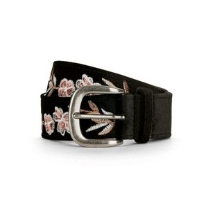 3/$15 Velvet embroidered belt